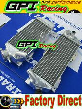 aluminum radiator  Kawasaki KDX200 KDX220 KDX 200 220 1997-2006  98 99 00 01 02