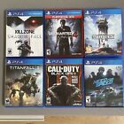 PS4 games mint condition