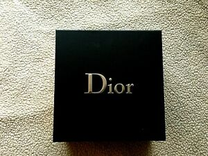 Dior Gift Black Box 8'' 1/2 x 8' 1/4' x 3'' 1/2