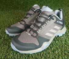Womens Adidas Terrex AX3 Walking/Trail Shoes khaki/sky blue size UK5.5