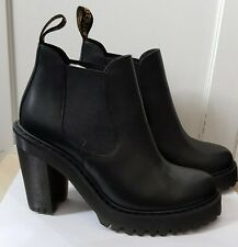 Dr Martens Hurston Boots With Heels Size 4