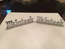 Mcintosh MC30 Emblem / Logo Reproduction