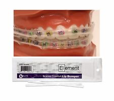 Element Braces Comfort Lip Bumper / Mouth Guard For Braces Orthodontic - Dental