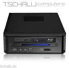 Quad-Core Mini PC Intel i7 DVD HDMI WLAN BT 4K SSD USB 3.0 stromspar leise i736