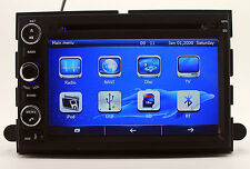 Indash Touch Screen Car Radio DVD Player GPS Navigation For Ford Mustang +3D MAP