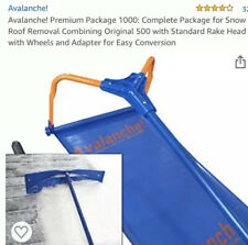 Avalanche Premium Pkg 1000 Completr Pkg For Snow Roof Removal Combining Original
