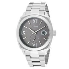 (NEW) A_Line Women's 80014-014 Dashuri Grey Dial Stainless Steel Watch