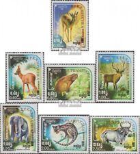 Cambodge 613-619 (complète edition) neuf avec gomme originale 1984 sauvages viva