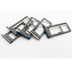 Dual Sim Card Slot SD Card Tray Holder For Samsung Galaxy S9 G960 S9 Plus+ G965