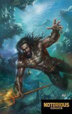 Justice League #12 Aquaman Variant Drowned Earth DC Comics 1st Print 11/21