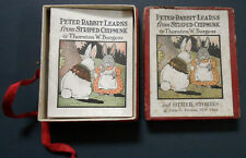 THORNTON W BURGESS boxed st of 8 miniature books 1917