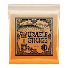 More details for ukulele strings ernie ball concert soprano ukulele, clear 2329