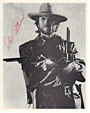 Clint Eastwood Outlaw Josey Wales Actor Hand Signed Autograph 8x10 Print