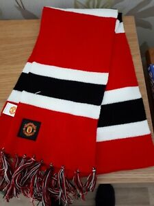 Manchester United Football Scarf/Banner Brand New No Tag.
