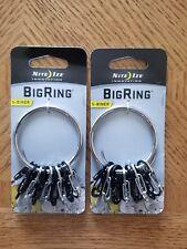 Nite Ize - BRG-M1-R3 - BigRing  Big Ring - S-Biners & Ring - 2 Key Rings