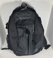 Outdoor Products Backpack Black 56-M-KM Polyester 590OP-CVR