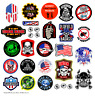 Funny Union Hardhat Stickers   30 Pack   Oilfield Frac Roughneck Patriotic