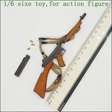Y54-122 1/6 scale soldier story metal M1928A1 Thompson Submachine gun