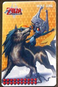 ❤️ Wolf Link Amiibo Card 20 Hearts Breath of the Wild ❤️