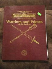 Advanced Dungeons & Dragons Forgotten Realms Warriors And Priests Of The Realms