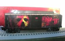 LIONEL First Ever Friday the 13TH JASON Voorhees Boxcar Made USA - Must See