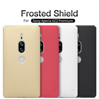Sony Xperia XZ2 Premium Nillkin Frosted Shield Anti-scratch Back Case Cover