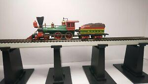 Mantua HO Train Diecast 4-4-0 General Steam Locomotive & Tender
