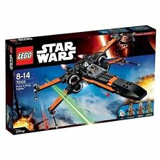 LEGO 75102 Star Wars The Force Awakens Poe's X-Wing Fighter inc. BB-8