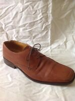 Men's Loake Brown Leather Laces Shoes Size 9.5