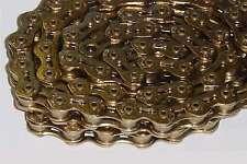 KMC K710SL SuperLite Ti-N GOLD Bicycle Chain BMX Fixed