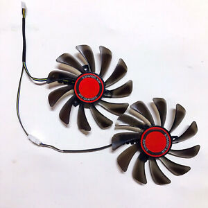 For XFX RX580 584 588 Repair Accessories Graphics Card Dual Cooling Fan 95mm 8G