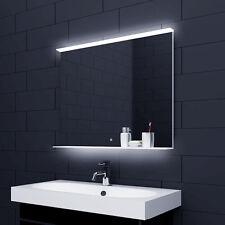 LED Badspiegel Spiegel mit Touch Schalter und Glasablage 80x75cm ALM80X75