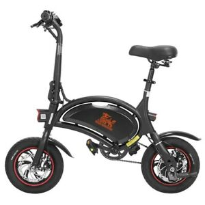 KUGOO KIRIN B1 PRO Electric Bike upto 60KM Ebike 250W 12inch Tyres Now UK Legal!