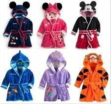 1pcs Baby Girls Kids Boy Night Bath Robe Sleepwear Homewear Pajamas Clothing New