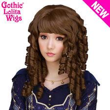 Gothic Lolita Wigs® Ringlet Redux™ - Chestnut Brown Mix