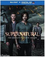 Supernatural Complete Ninth Season 9 Nine ~ NEW 4-DISC BLU-RAY & DIGITAL COPY