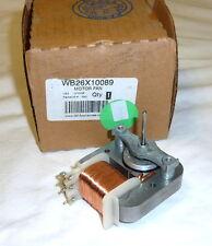 Genuine GE WB26X10089 Microwave Fan Motor NEW in Pkg!
