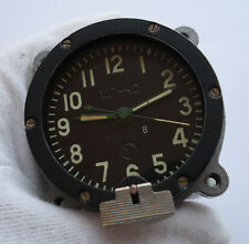 NEW!!! Rare 127 Chs USSR Russian Soviet Military Tank Panel Clock 5 Days #43823
