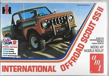 International Scout Ss II 1977 off Road Kit 1:24 AMT