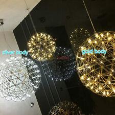 Modern Round Spark Ball Chandelier Firework Pendant Lamp LED Ceiling Light
