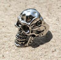 Heavy Men's Skull Alloy Ring Gothic Vintage Fashion Jewelry Size 7-13