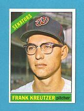 1966 Topps Baseball Card #211 Frank Kreutzer (Washington Senators) EM AJ00120