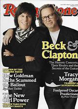 Rolling Stone music magazine Eric Clapton Jeff Beck Tracy Morgan Shaun White
