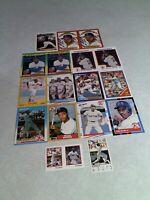 Ellis Burks:  Lot of 50 cards.....42 DIFFERENT / Baseball
