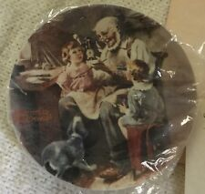 knowles collector plates norman rockwell The Toy Maker
