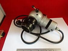 MICROSCOPE PART REICHERT AUSTRIA ZETOPAN LAMP ILLUMINATOR OPTICS AS IS #37-A-18