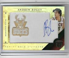 ANDREW BOGUT 2011 PANINI GOLD STANDARD  GAME JERSEY AUTOGRAPH #32/199