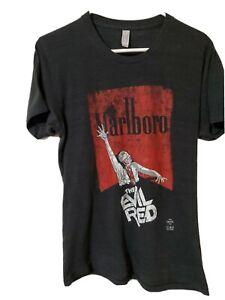 Marlboro The Evil Red T Shirt - Medium - American Apparel