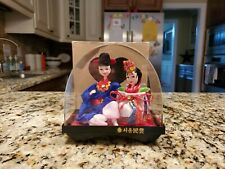 New ListingVintage Korean Native Dolls in display case in Original Box