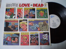 """THE GODFATHERS 12""""45 - EP - """"LOVE IS DEAD"""" - 1988 UK"""